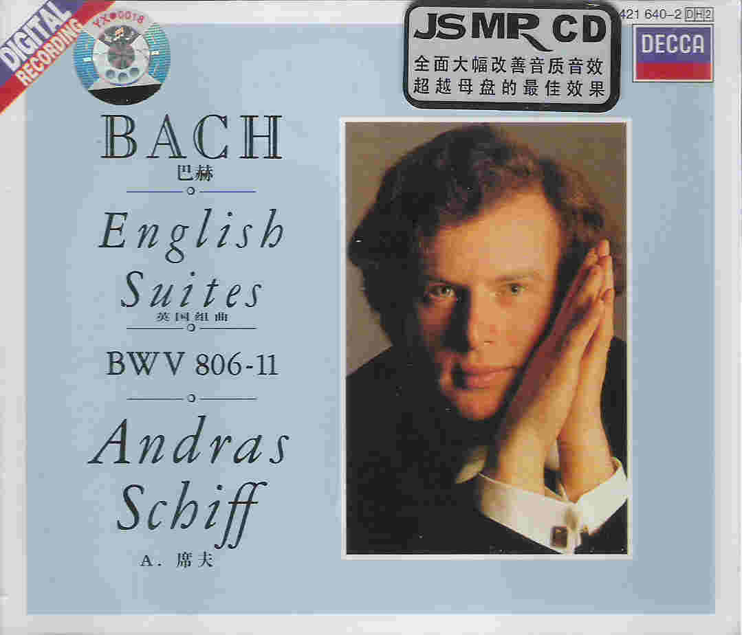 JS Bach English Suites 英国组曲
