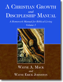 A Christian Growth and Discipleship Manual