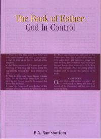 The Book of Esther: God in Control